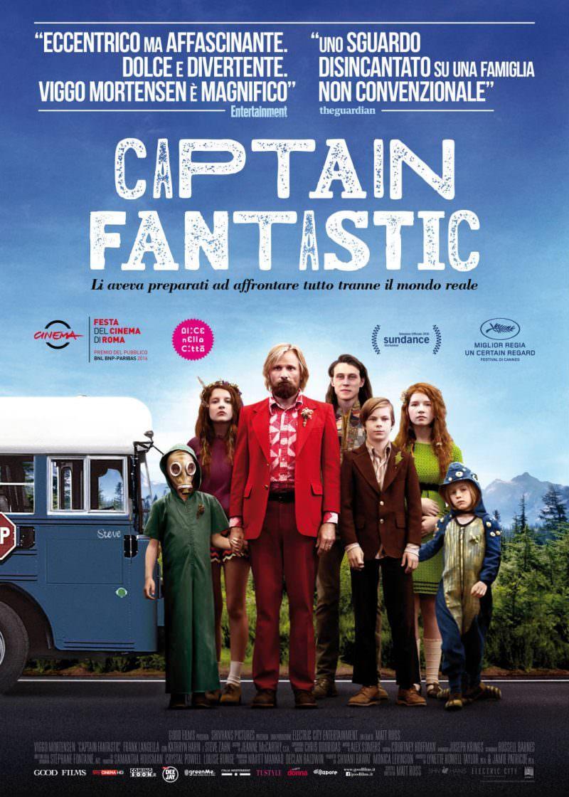 Film Captain Fantastic - L'apprendimento - Studio Netiquette