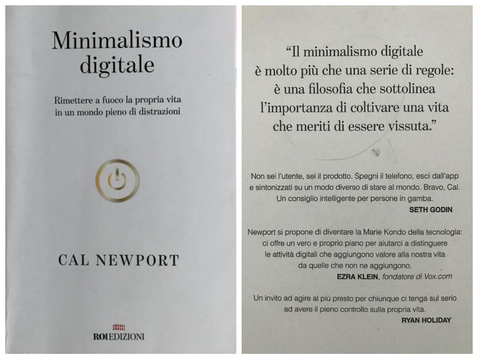Il minimalismo digitale per È salutare di tanto di tanto mettere un punto interrogativo a ciò che a lungo si era dato per scontato a cura di Stefania Milena Lovaglio
